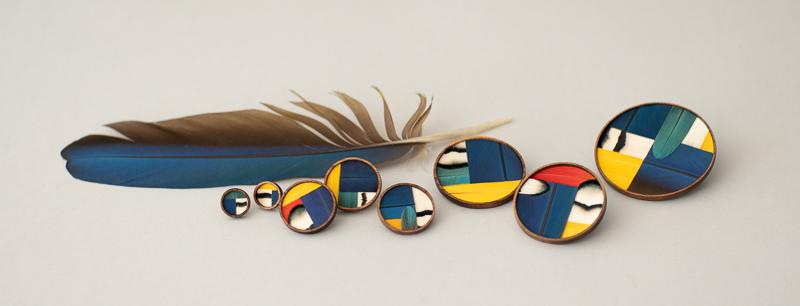 collection de stijl inspiration mondrian bijoux minimalistes